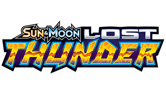 Pokemon Sun and Moon Lost Thunder logo