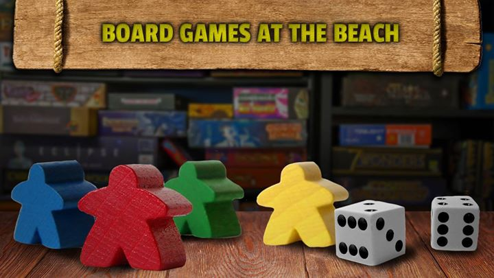 Board Games at the Beach
